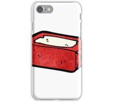 chewing gum packet cartoon iPhone Case/Skin