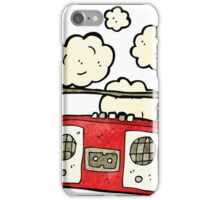 old tape player cartoon iPhone Case/Skin