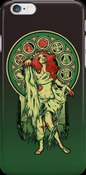 Zombie Nouveau - IPHONE CASE by MeganLara