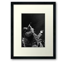 The wonderful Jimmy Cliff 1 (n&b)(t) by expressive photos ! Olao-Olavia by Okaio Créations   Framed Print