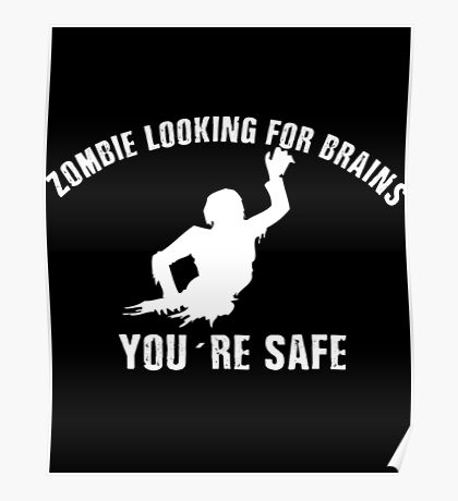 Zombie Brains Poster