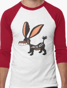 JACK-ASS Men's Baseball ¾ T-Shirt