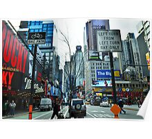 New York City Tree Poster