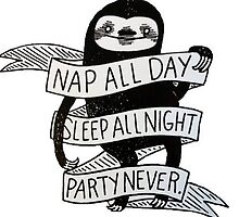 Sleep all day by leng