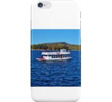 FUN DAY TOUR ON LAKE ARROWHEAD iPhone Case/Skin