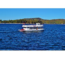 FUN DAY TOUR ON LAKE ARROWHEAD Photographic Print