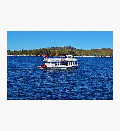 FUN DAY TOUR ON LAKE ARROWHEAD Photographic Print