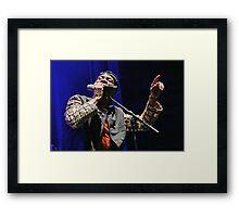 The wonderful Jimmy Cliff 3 (c)(t) by expressive photos ! Olao-Olavia by Okaio Créations   Framed Print