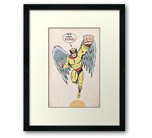 Harvey Birdman Framed Print
