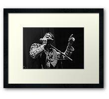 The wonderful Jimmy Cliff 3 (n&b)(t) by expressive photos ! Olao-Olavia by Okaio Créations   Framed Print