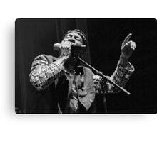 The wonderful Jimmy Cliff 3 (n&b)(t) by expressive photos ! Olao-Olavia by Okaio Créations   Canvas Print