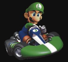 Luigi Kart by Ashley Thompson