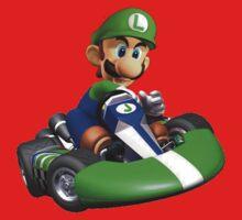 Luigi Kart Kids Tee