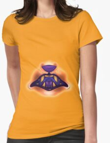 Mouth 4 Womens Fitted T-Shirt