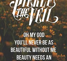 Pierce the Veil Poster by Vic O