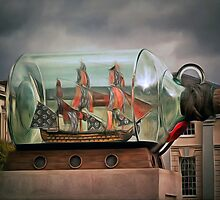 Ship in a Bottle by AndyHuntley