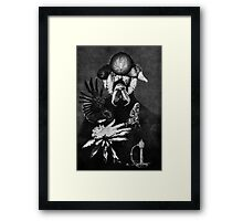 Just Made this Continually. Framed Print