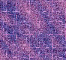 Purple and Pink Glittery Maze by lolohannah