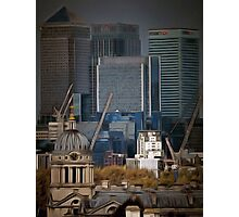 Canary Wharf London Photographic Print