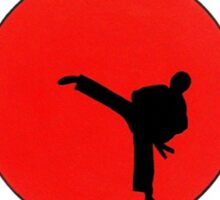 Art Of Karate Print Sticker