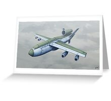 Drone Bomber Greeting Card