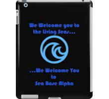 Sea Base Alpha iPad Case/Skin