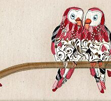 """Love Birds"" by Laura Nathan"