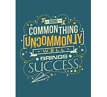 Uncommon Things Photographic Print