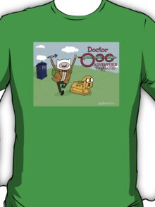 Doctor Ooo: Adventure Timelord T-Shirt