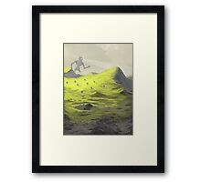 Looking For Something Framed Print