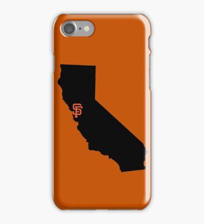San Francisco Giants - California iPhone Case/Skin