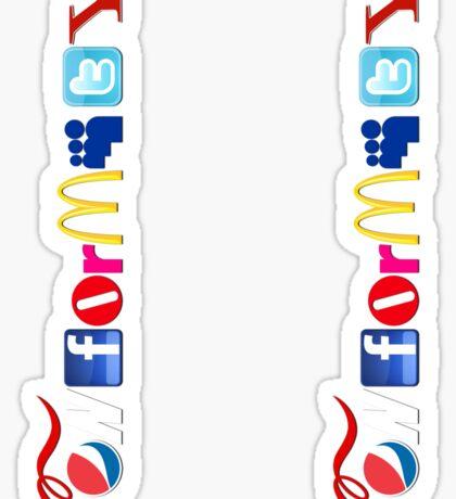 Conformity! Sticker