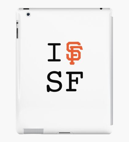 I SF SF iPad Case/Skin