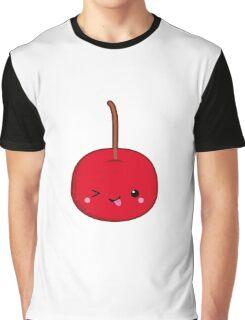 Kawaii red cherry Graphic T-Shirt