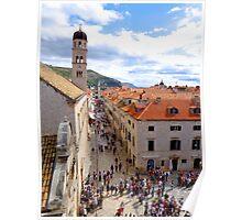 Old Town, Dubrovnik, Croatia Poster