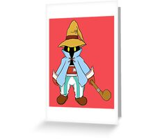 The Black Mage - Cherry Greeting Card