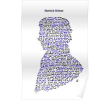 Sherlock in his own words Poster
