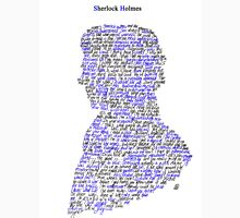 Sherlock in his own words Womens Fitted T-Shirt