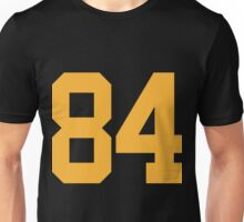 84 Brown Steelers Pittsburgh Color Rush Unisex T-Shirt