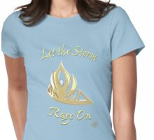 Crown of the Ice Queen Womens Fitted T-Shirt