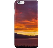 Hey Look! The Sky is on Fire...  iPhone Case/Skin