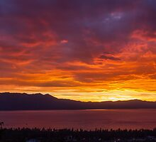 Hey Look! The Sky is on Fire...  by Richard Thelen