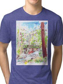 Hobart Rivulet Tri-blend T-Shirt