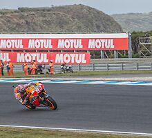 Marc Marquez Moto GP World Champion by JohnKarmouche