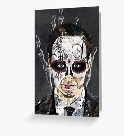 La Mano de la Muerte Greeting Card