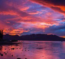Sunset Tonight - Lake Tahoe by Richard Thelen