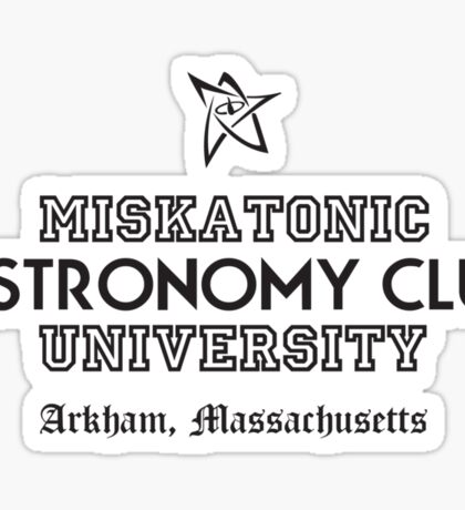 Miskatonic Uni 2 Sticker