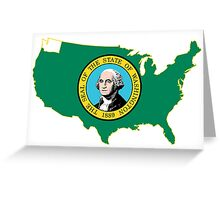 Washington Greeting Card