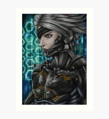 Metal Gear: Raiden Art Print