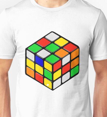 Cube game rubik toy art Unisex T-Shirt